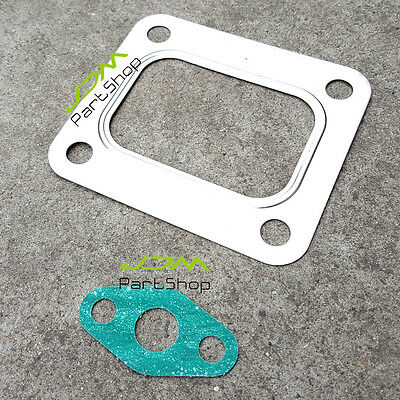 Turbo T4 4 Bolt Turbocharger Inlet to Manifold Metal Gasket  Blow out price!