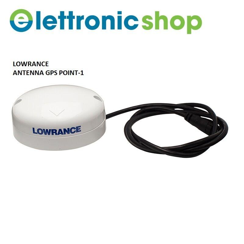 LOWRANCE ANTENNA GPS POINT-1 COD.000-11047-001
