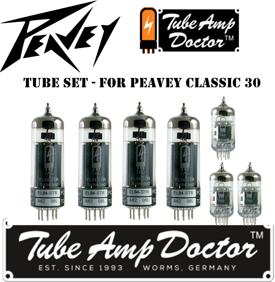 Vacuum Tube Set for Peavey Classic 50 Apex Matched