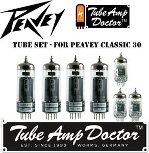 Tube-Set-for-Peavey-Classic-30-COMBO-Tube-Amp-Doctor-vacuum-valve-tubes
