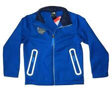 New tag NWT The NORTH FACE Boys Blue Apex Bionic Windwall Fleece Jacket M L XL
