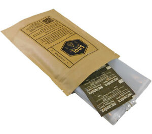 5col Survival Water Treatment Kit Aquamira Tablets and 1L WhirlPak Storage Bags