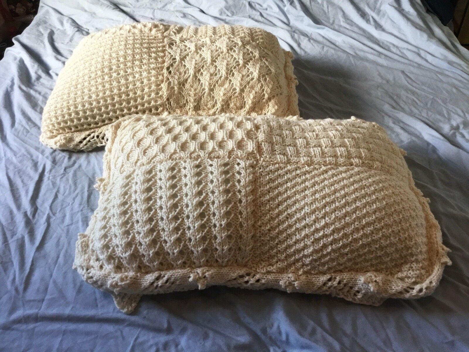 BELLISSIMO BELLISSIMO BELLISSIMO UNICO HAND Knitted Quilt 038e91