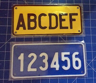 AUSTRALIA Novelty Embossed Metal License Plate