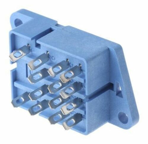Finder 11 Pin Relay Socket, 250V ac for use with Various Series