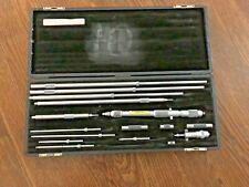 Starrett 124c Inside Micrometer Set Solid Steel