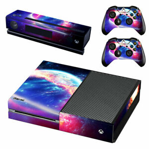 Details About Xbox One Skin Sticker Decal Cover Kinect 5 Choices Space Galaxy 02