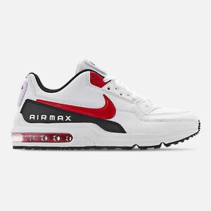 BV1171-100-Nike-Air-Max-LTD-3-Running-White-University-Red-Black-Sizes-8-13-NIB