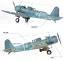 ACADEMY-12324-1-48-USN-SB2U-3-Battle-of-Midway-Model-Kit thumbnail 4
