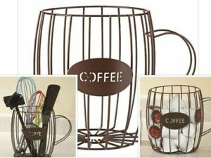 Coffee-Pod-Holder-K-Cup-Storage-Rack-Keurig-Capsule-Cups-Display-Stand