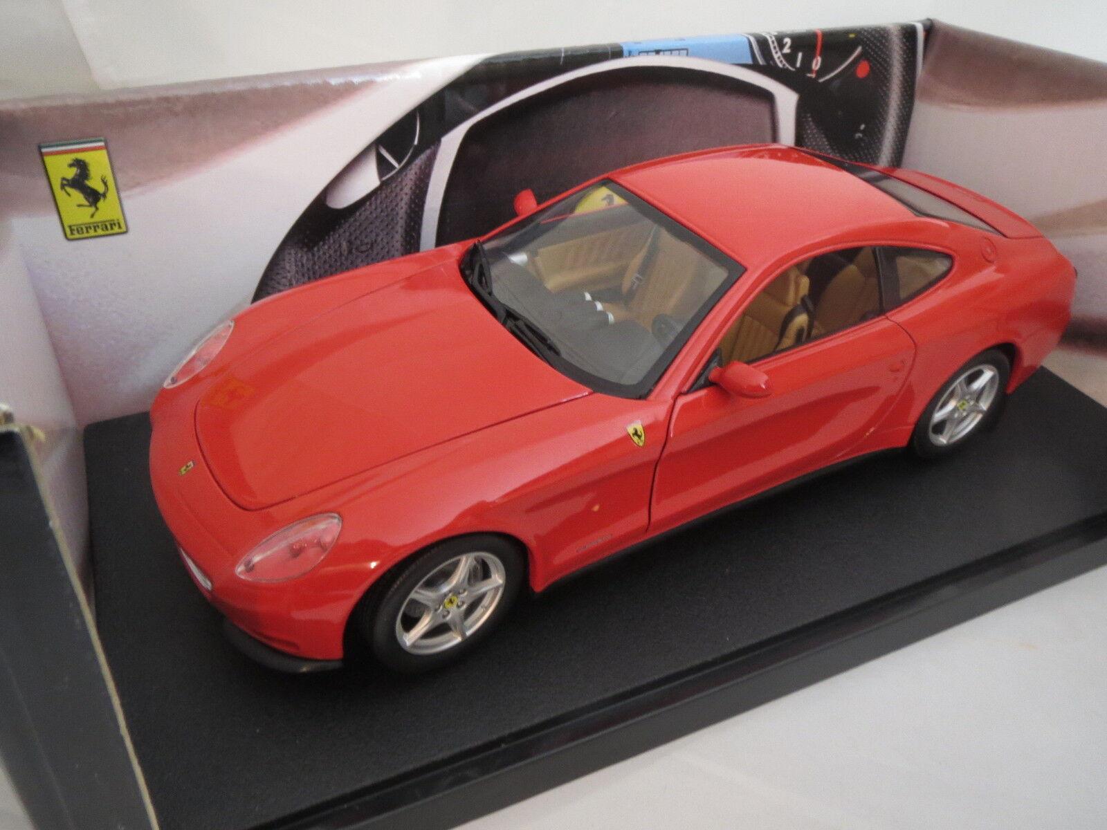 Hotwheels ferrari 612 Scaglietti (rojo) 1 18 embalaje original