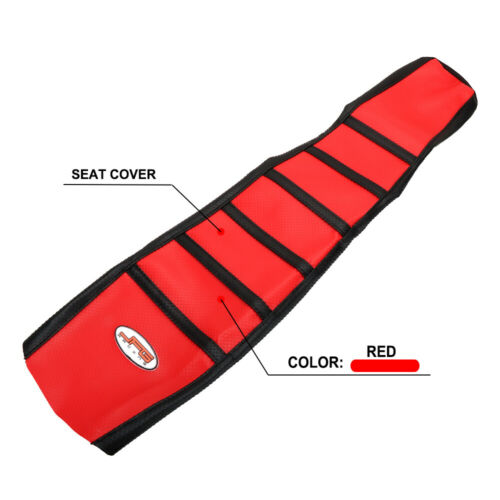 New Gripper Soft Motorcycle Seat Cover Skin Rubber For Honda XR250R 1996-2004
