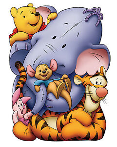 Winnie the Pooh Tigger Eeyore Giant Poster A0 A1 A2 A3 A4 Sizes