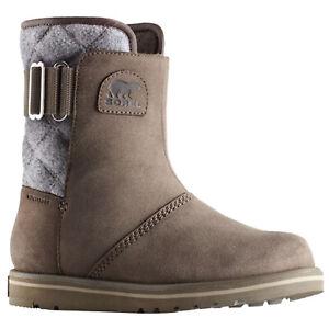 Détails sur Sorel Femmes Mi Hiver Bottes de neige Imperméable Daim Fourrure Doublé Thermique Chaussures afficher le titre d'origine