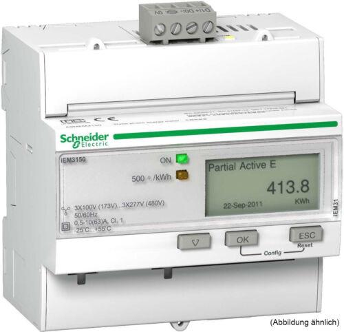 Schneider Electric iEM3150 Energiezähler 63A Modbus A9MEM3150