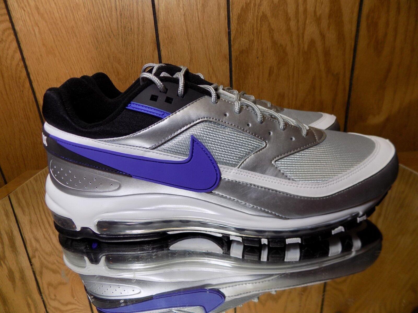 AO2406-002) Nike AIR Max 97 BW- Persian purple- NEW s 14