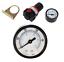 """Regulador de presión 1//4/"""" con manómetro rápido envío desde Alemania"""