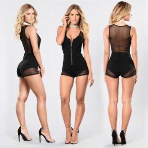 Cocktail-Floral-Jumpsuits-Party-Ladies-Romper-Pants-Bodysuit-Clubwear-Womens