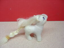 "1984 Hasbro Hong Kong MY LITTLE PONY ""Baby Blossom""? White Flower Symbols"