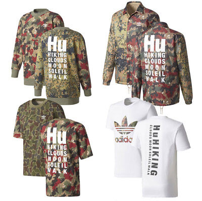 9289d5512bf77 Adidas x Pharrell Williams NMD Hu Hiking Camo Crewneck, Shirt ...