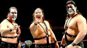 Demolition-Ax-Smash-amp-Crush-Wrestling-Tag-Team-Photograph-8x6-WWF-WCW-Photo