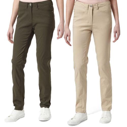 Craghoppers Womens//Ladies Adventure Smart Dry Walking Travel Trousers
