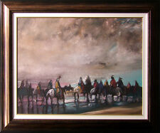 """Earl Biss""""Between the Sky Earth and Water""""#7Giclee on Canvas w/custom frame30x40"""