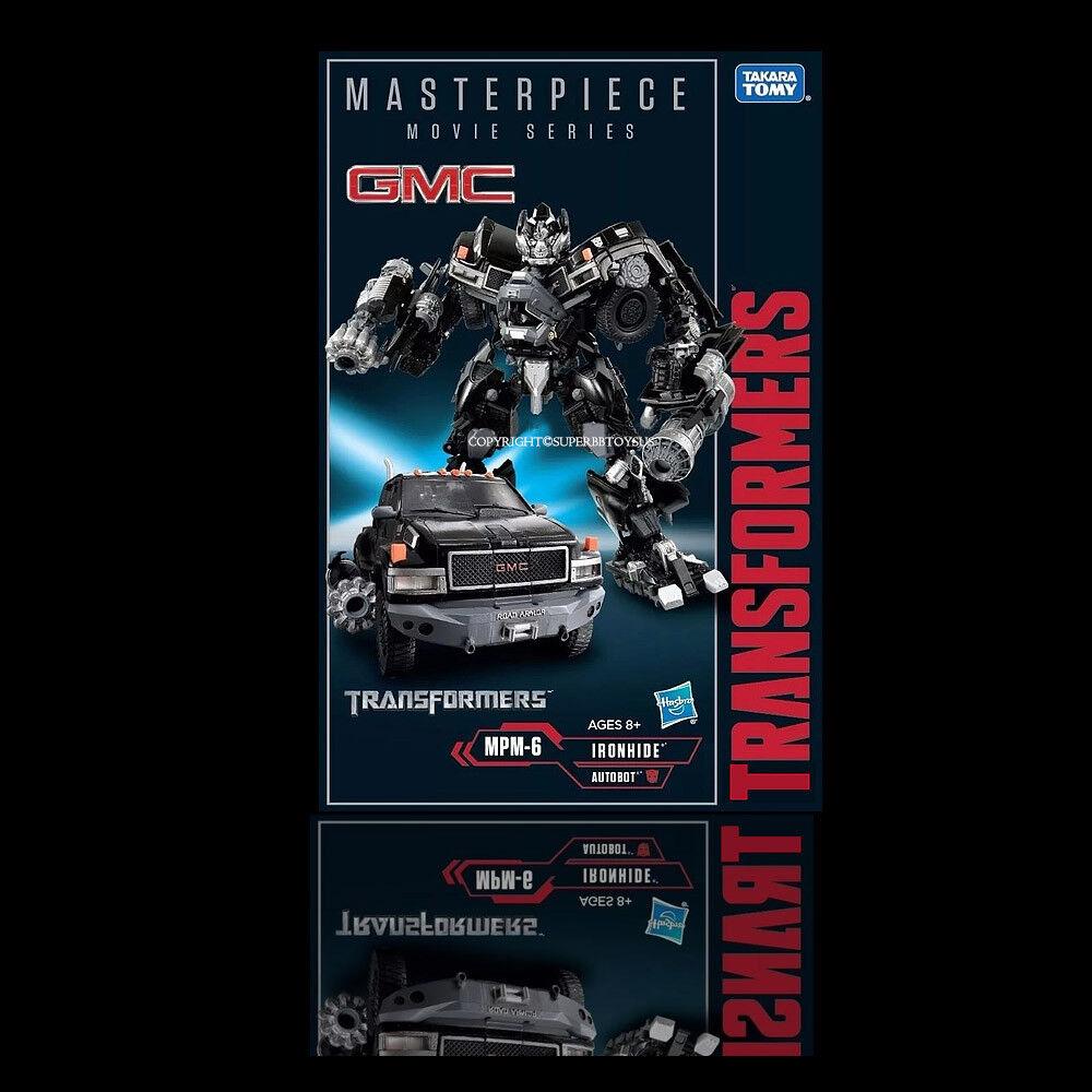 InStock Now   Hasbro Transformers Masterpiece Movie Series MPM6 Ironhide nuovo