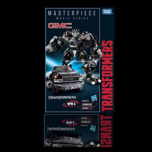 DHL5days Takara Transformers Masterpiece Movie Series MPM-6 Ironhide NEW