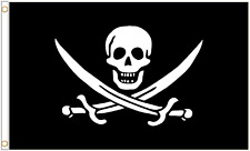 Sonderangebot Deadman Brust Dreispitz Piraten 5ft X 0.9m Flagge Letzte Einige