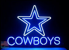 Dallas Cowboys Budweiser Neon Sign  20''x16'' From USA
