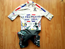 La Française des Jeux Team 1997 Skinsuit / Chronosuit/ Zeitfahranzug Sibille , S