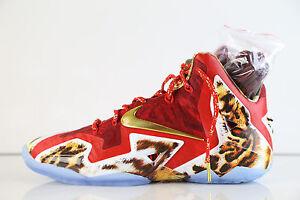 meet 7fa00 b70a0 Image is loading Nike-Lebron-11-Premium-2K14-650884-674-9-