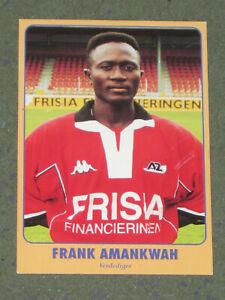 GHANA Frank Amankwah (AZ Alkmaar) FC Gütersloh Iraklis Kotoko OHNE UNTERSCHRIFT