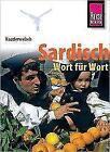 Reise Know-How Sprachführer Sardisch - Wort für Wort von Giovanni Masala (2009, Taschenbuch)