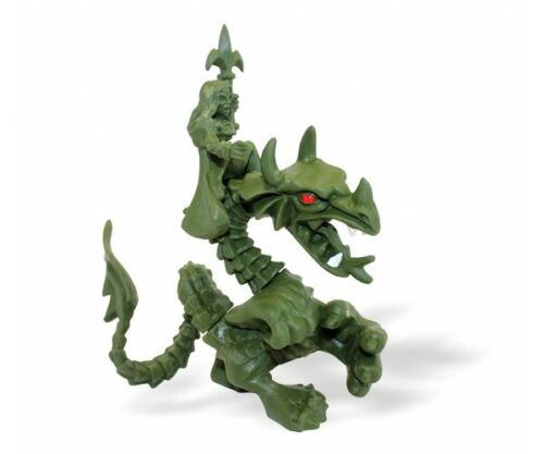 1//32 scale. Amazon riding a dragon Biplant Soft plastic toy soldiers