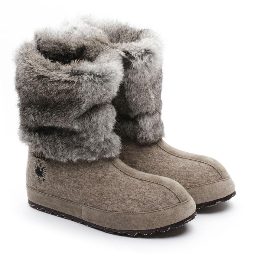 Zdar Zdar Zdar Nikita bajo Natural De Piel De Conejo botas tamaño 6, 7, 8, 9, 10 Disponible Nuevo  de moda