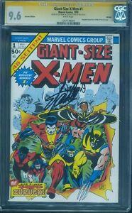 Giant-Size-X-Men-1-CGC-SS-9-6-Stan-Lee-Len-Wein-2-Signed-1999-German-Ed-no-8