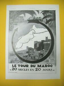 Publicite-de-Prensa-Torre-Del-Marruecos-20-Dias-Turismo-Oujda-Agadir-Tanger-1934