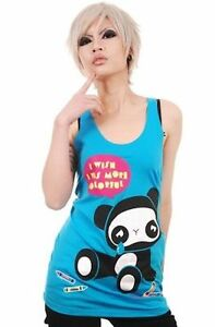 newbreed-girl-blue-tank-top-crying-panda-i-wish-i-was-more-colorful-size-L