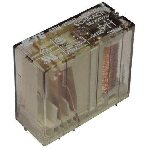 TE Connectivity V23047-A1024-A511 Relais 24V DC 1xNC 1xNO 6A Safety Relay 855277