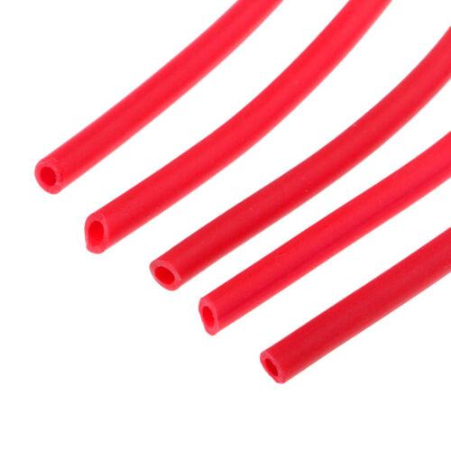 5 Stüc 38,5 cm Leuchtende Silikon Rig Tube Karpfen Groben Fischerei Tackle