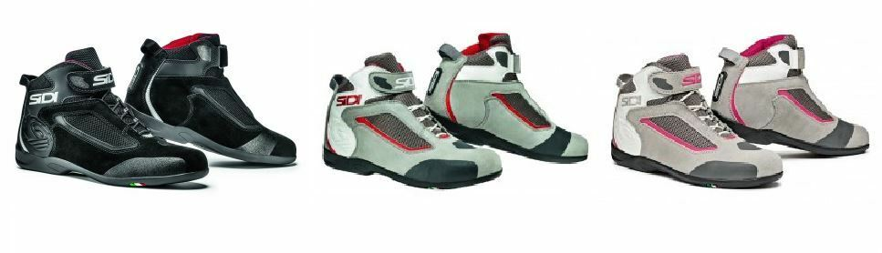 Sidi Gas Casual Motorcycle Motorbike Suede Leather Touring Boots
