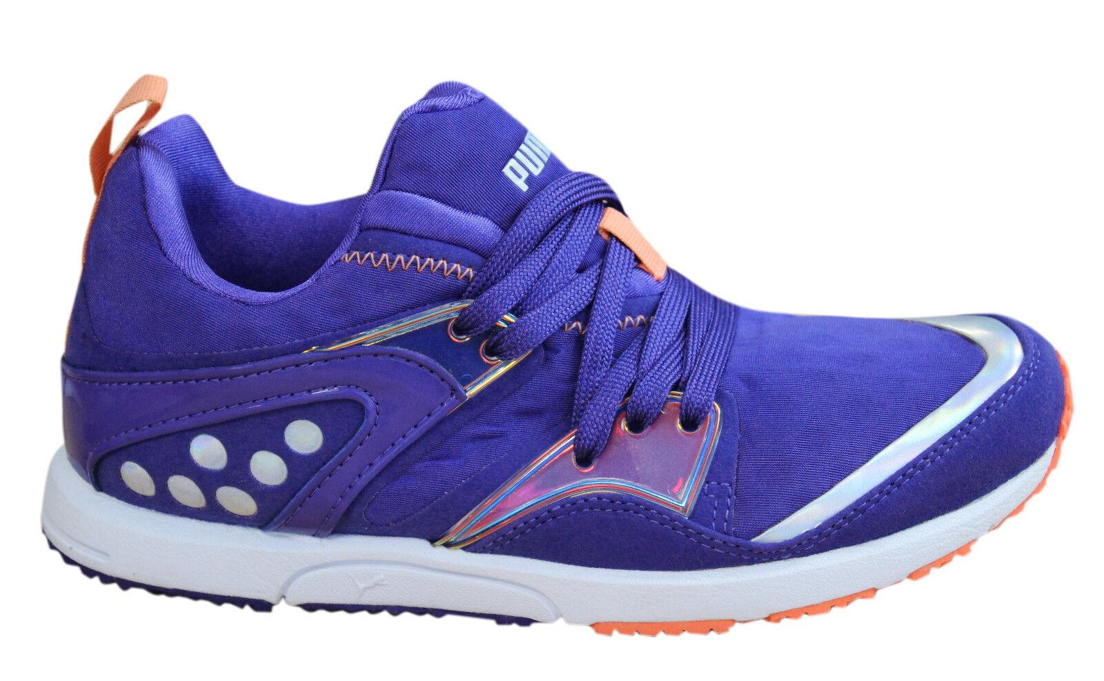 Puma Futuro BLAZE LITE irides Zapatillas de mujer Zapatos SIN CIERRES púrpura