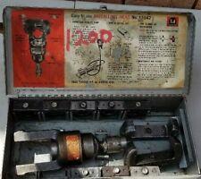Thomas Amp Betts Tampb 13642 12 Ton Hydraulic Crimping Head Heads With 8 Dies