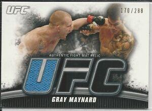 Gray Maynard 2010 Topps UFC Knockout Fight Mat Relics Card # FMGM /288