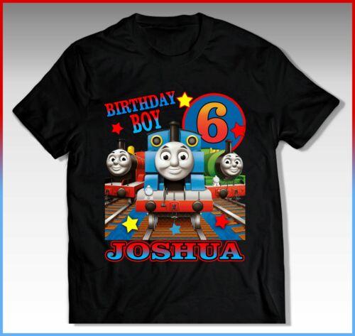 THOMAS THE T THOMAS THE TRAIN Birthday Shirt THOMAS THE TRAIN Birthday T-Shirt