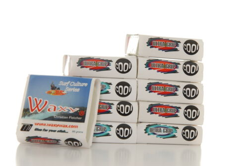 10x Waxy Wax Cool 85g Premium Surf Original White Coloured Surfboard A40598 x10