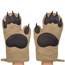 Fred U0026 Friends BEAR HANDS Oven Mitts Pair Set Of 2 Kitchen Baking Cute Fun  Gift