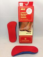Apex Lynco Orthotic Inserts L305 Sports Series Women's Size 5 Heel To Ball -